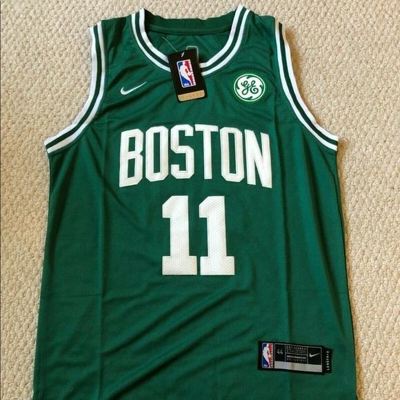 huge selection of b7da6 1578a Kyrie Irving #11 Boston Celtics NWT Jersey Men NEW Boutique
